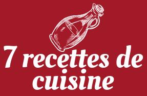 7 recettes de cuisine